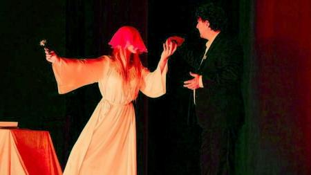 Spectacol eminescian la Teatrul Ararat