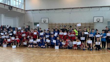 Toți copiii au fost desemnați câștigători ai Festivalului Național de Handbal (GALERIE FOTO)