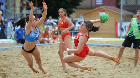 Programul zilei a treia a Finalei Campionatului European de Handbal pe Plajă