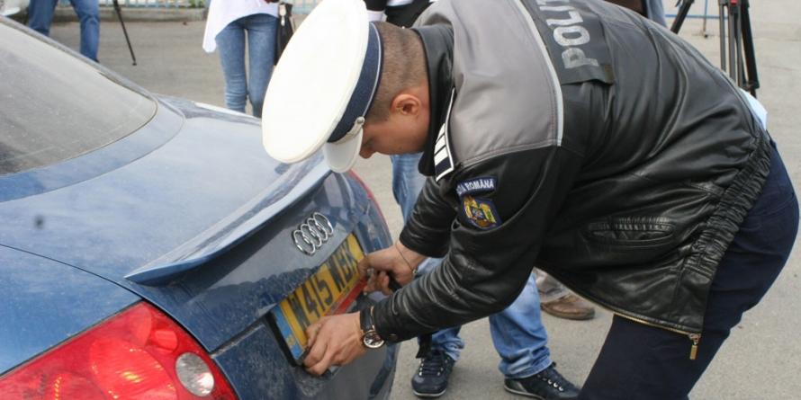 Mașină urmărită internaţional găsită în Cicârlău
