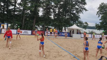 Tudor Marta a debutat ca antrenor la Campionatul European de Beach Handball din Polonia (GALERIE FOTO)