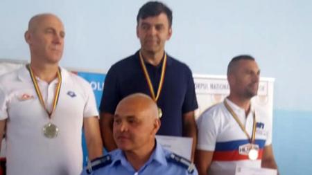Ca și anul trecut, jandarmul Florin Vicențiu Silaghi a câștigat proba de 100 m bras la Campionatul Naţional de Înot al MAI