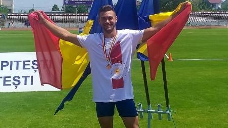 Atletul băimărean Andrei Poci – campion național la decatlon și calificare la Balcaniadă (GALERIE FOTO)
