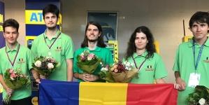 O medalie de aur și două de argint pentru lotul naţional de informatică la Olimpiada Europei Centrale