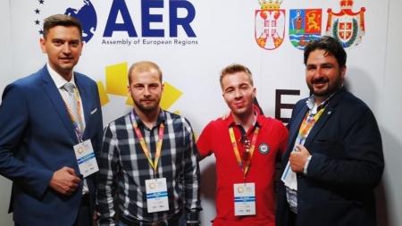 Maramureșul la Academia de Vară a Adunării Regiunilor Europei de la Novi Sad
