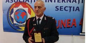 Lt. Grigore Mureșan de la ISU Maramureș a pus arma-n cui