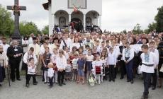 La Plopiș, târnosire sub semnul ÎPS Arhiepiscop Iustinian (GALERIE FOTO)