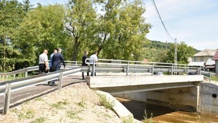 Două poduri peste Bârsău, construite în Valea Chioarului