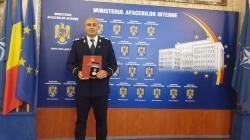 Polițist maramureșean, recompensat cu Emblema de onoare a MAI