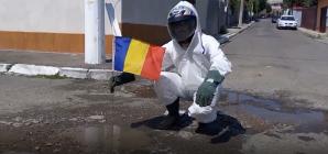 Protest selenar pentru gropi românești