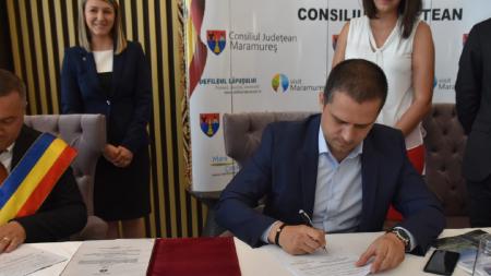 Eveniment pentru Borșa: s-a semnat contractul de finanțare pentru telegondola și pârtia olimpică