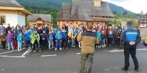 200 de elevi au participat la Tabăra de vară alpină (GALERIE FOTO)