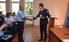 A plouat cu felicitări la IPJ Maramureș