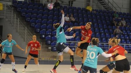Fetele de la Minaur au câștigat și al doilea amical din Slovacia
