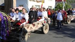 """Cu căruțele pe """"Drumul Catedralelor de lemn ale Maramureşului"""" (GALERIE FOTO)"""