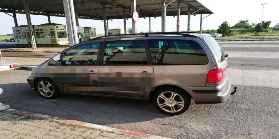 Altă mașină furată din străinătate a fost descoperită de polițiști ai ITPF Sighet