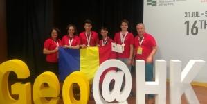 Performanță de excepție – patru medalii la Olimpiada Internaţională de Geografie