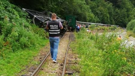 Cazul Mocănița, după două deraieri într-o săptămână – s-au făcut două dosare penale