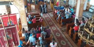 """În Sârbii Fărcașei s-a desfășurat Școala de vară """"Bucuria creșterii lângă Hristos și Maica Domnului"""" (GALERIE FOTO)"""