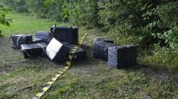 Țigări de contrabandă transportate cu drona, plus urmărire cu împușcături
