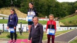 Delia Gherghel, de la CSȘ Baia Sprie – campioană națională la biatlon cros