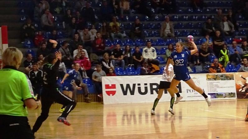 Victorie facilă a handbalistelor de la Minaur împotriva Rapidului (GALERIE FOTO)
