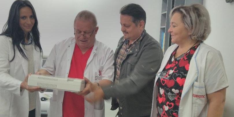 La Policlinica Sportivă a Spitalului Județean, electrocardiograf nou pentru testarea sportivilor maramureșeni