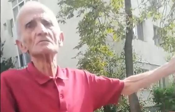 Povestea băimăreanului care nu a vrut să plece nicăieri, dar s-a trezit cu mașina într-o conductă de  gaz (VIDEO)