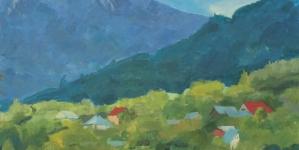Expoziție cu lucrările artiștilor participanți la Tabăra Internațională Culori Unite în Maramureș