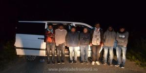Migranți asiatici prinși cu tot cu călăuzele lor de lucrători ai ITPF Sighet