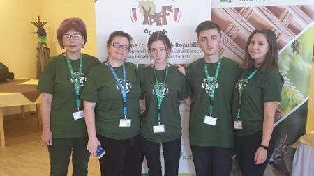 """Șincaișta Sara Nagy – un loc 1 la concursul internațional  """"Tineri în pădurile Europei"""" (GALERIE FOTO)"""