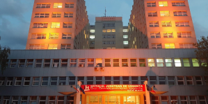 Astăzi, la Spitalul Județean, situația a fost cam… portocalie