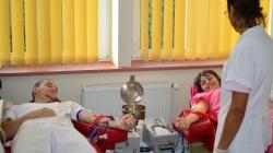Angajați ai Spitalului TBC Baia Mare au donat sânge