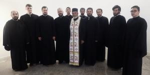 Grupul psaltic al Episcopiei în pelerinaj în Neamț