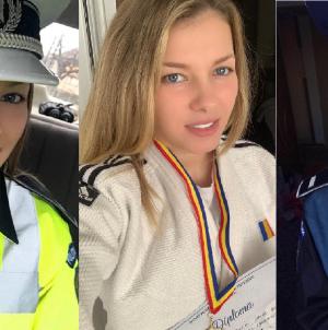 Agenta de poliție Laura Augustin încă n-a împlinit 23 de ani, dar a rotunjit 70 de medalii la judo (GALERIE FOTO)