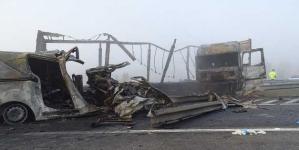 Tragedie pe o autostradă din Ungaria, patru români au murit