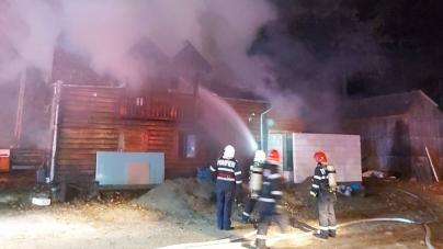 După o cabană care a luat foc și o grădiniță a fost evacuată din cauza unui mic incendiu
