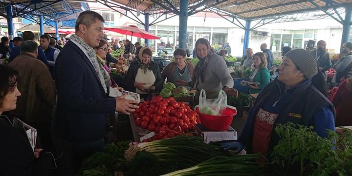Dan Barna vine în Baia Mare să-și facă piața
