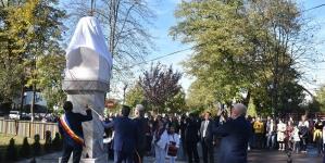 Moment special la Sighet, la dezvelirea bustului lui Eminescu
