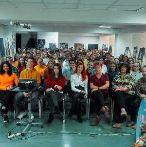 """""""Oameni care zidesc timpul"""" la Liceul Teoretic """"Emil Racoviță"""" (GALERIE FOTO)"""