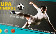Ediția 2019 a Cupei Minerul la fotbal în sală vine cu premii dublate pentru câștigători