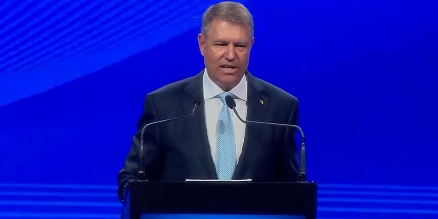 Președintele Klaus Iohannis evoluează astăzi la Sala Sporturilor din Baia Mare