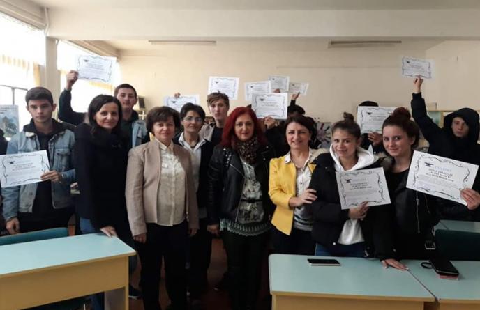 """Elevii de la Colegiul """"Aurel Vlaicu"""" și-au sărbătorit patronul spiritual (GALERIE FOTO)"""