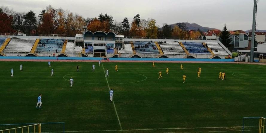 La Bistrița, Minaur Baia Mare obține victoria în minutul 90