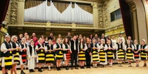 """Corul de copii și tineri """"Gaudium"""" din Baia Mare a împlinit trei ani"""