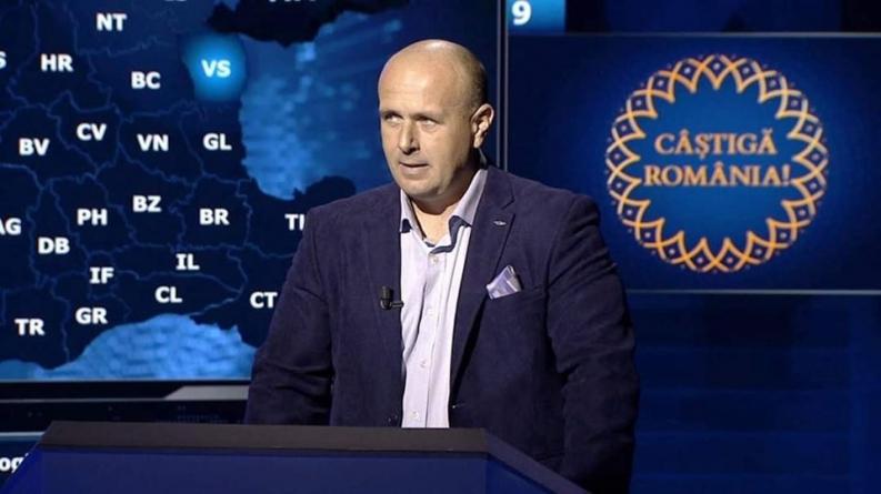 """Jandarm maramureșean la emisiunea """"Câștigă România"""""""