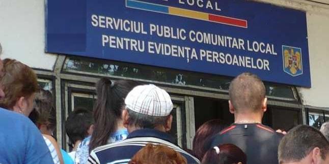 Serviciile de evidență a persoanelor vor lucra sâmbătă și duminică