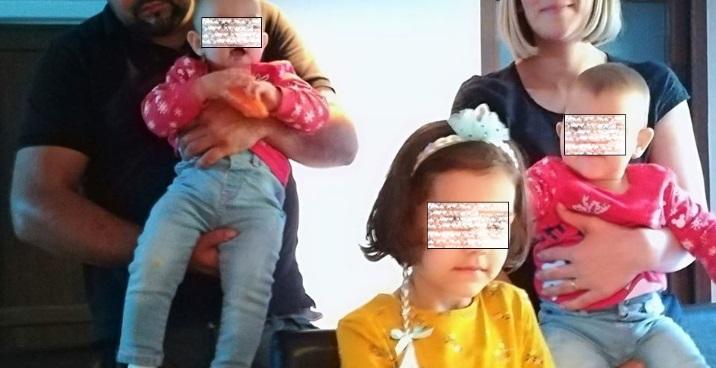 Copiii pădurarului ucis – două fetițe gemene de un an și una de 5 ani – au nevoie de ajutorul nostru