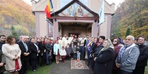 După 81 de ani, un ierarh a  liturghisit în Handalul Ilbei