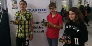 Șincaiști la faza națională a concursului de robotică Nextlab.tech (GALERIE FOTO)
